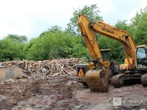 Обрушившийся почти шесть лет назад дом на улице Самочкина снесут