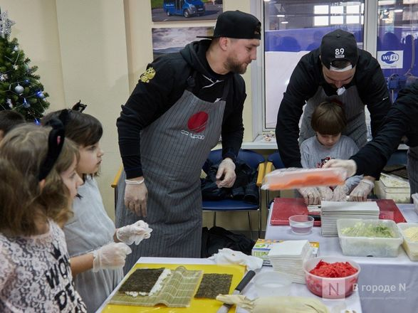 «Луидор» устроил новогоднее гулянье для сотен нижегородцев и их детей - фото 5
