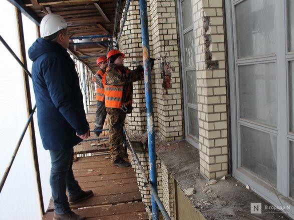 Инъекция для стен: как идет реставрация фасада нижегородской фабрики «Маяк» - фото 41