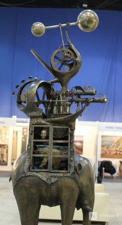 Творчество чистой воды: движущиеся скульптуры прибыли в Нижний Новгород - фото 7