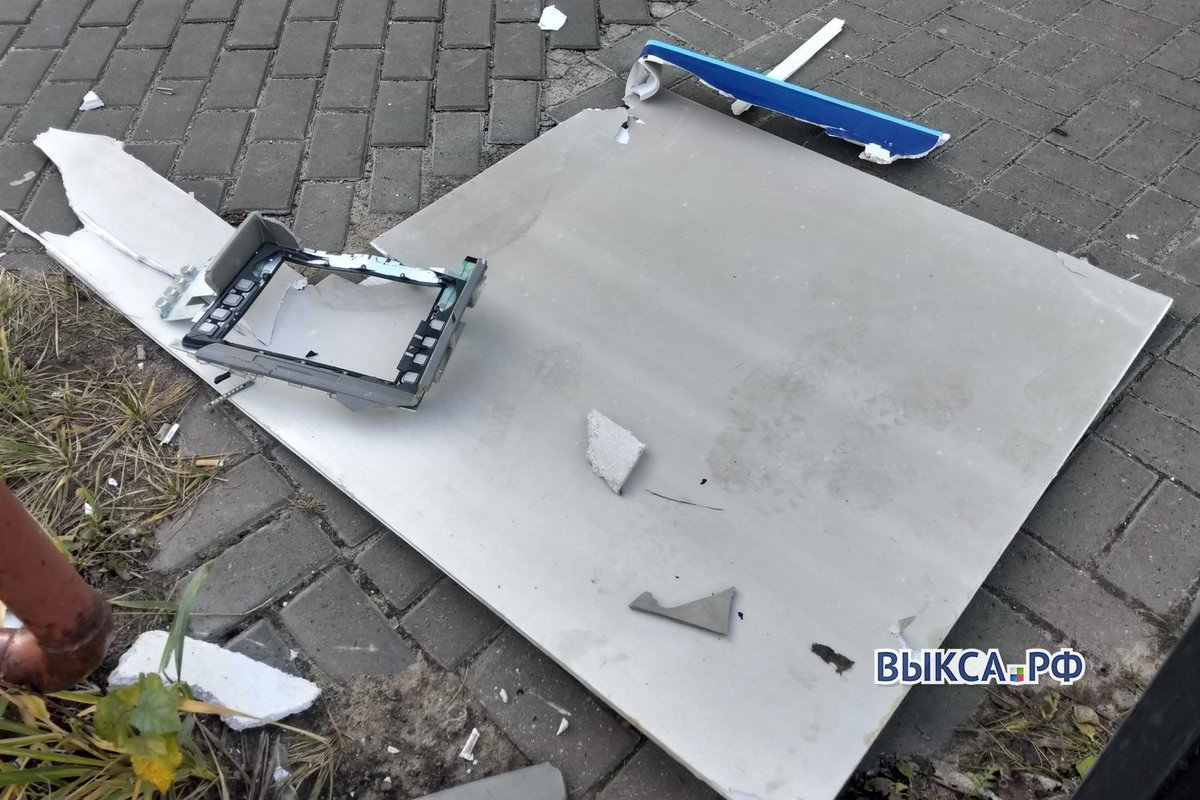 Полиция возбудила уголовное дело по факту взрыва банкомата в Выксе - фото 1
