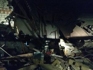 Два человека погибли в обрушившемся доме в Вачском районе
