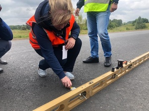 Дорогу Павлово – Михалицы отремонтировали по технологии холодной регенерации