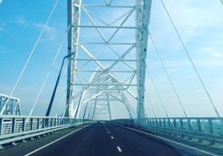 Затруднений в движении по новому Борскому мосту с момента открытия не возникало