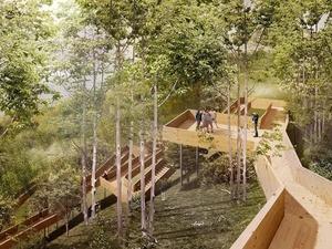 Восемь в одном: нижегородцам представили архитектурную концепцию парка «Швейцария»