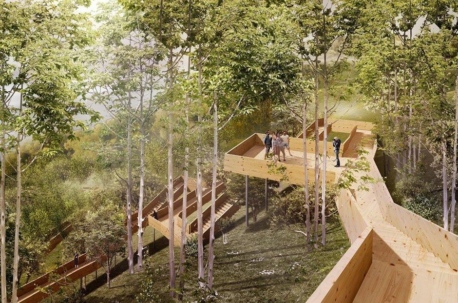 Восемь в одном: нижегородцам представили архитектурную концепцию парка «Швейцария» - фото 1